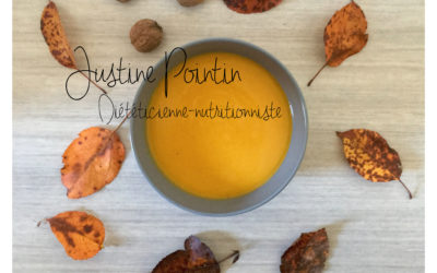 Soupe potimarron-carottes