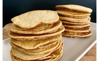 Pancakes sans sucres et sans beurre