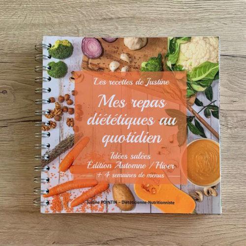 Livre de recettes diététiques