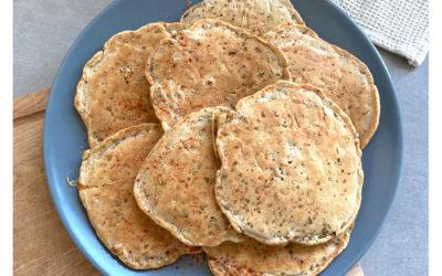 Pancakes salés au chorizo