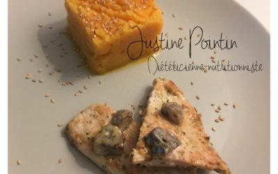 Purée de panais et carotte